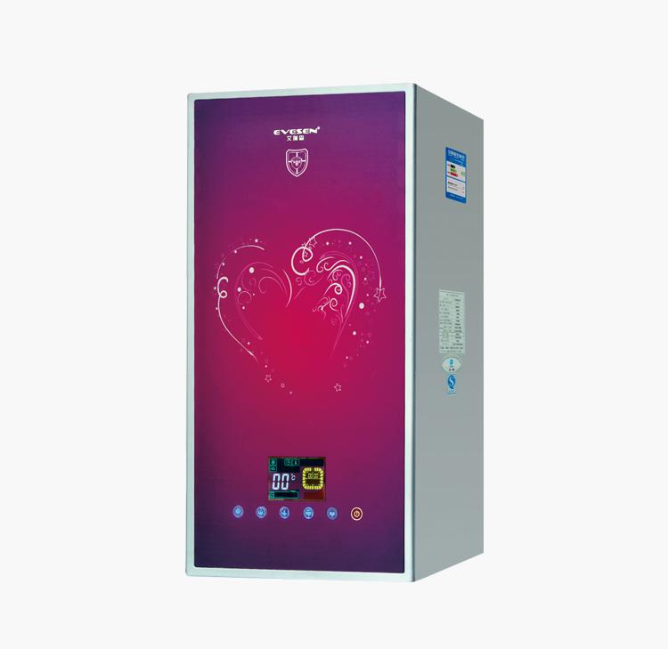 燃气采暖热水炉-D4红色玻璃
