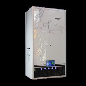 燃气采暖热水炉-D1白色玻璃